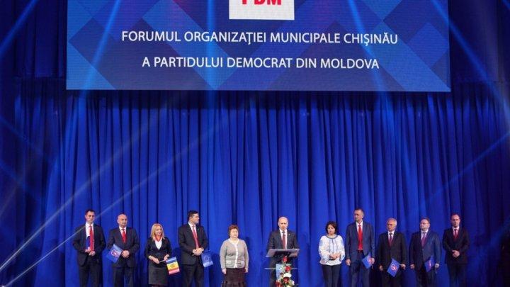 В Кишиневе прошел форум Демократической партии: он собрал более тысячи человек