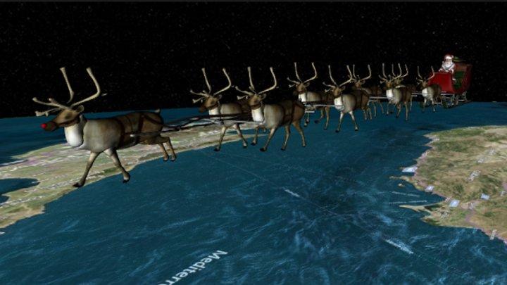 Санта-Клаус начал кругосветное рождественское путешествие