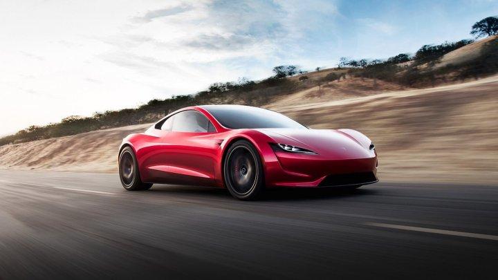 Рассекречен дизайн нового Tesla Roadster
