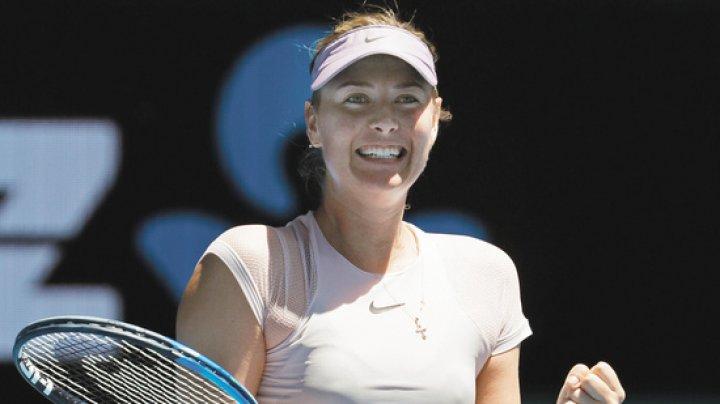 Мария Шарапова начала новый сезон с победы (видео)