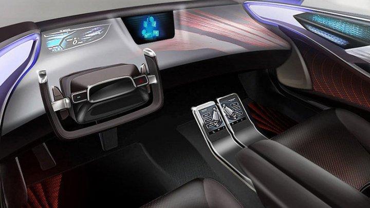 Toyota показала салон будущих беспилотных автомобилей