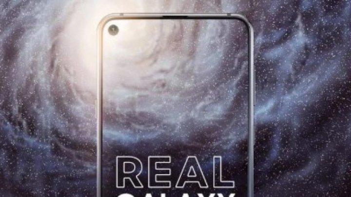 Samsung Galaxy A8s с «дыркой» в экране показали на официальных рендерах