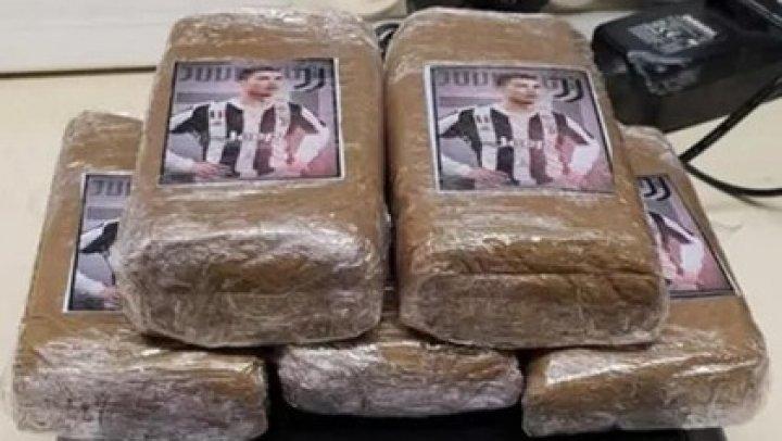 Во Франции наркоторговец упаковал марихуану в пакеты с изображением Роналду