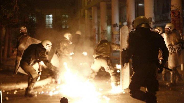 В центре Афин произошли столкновения