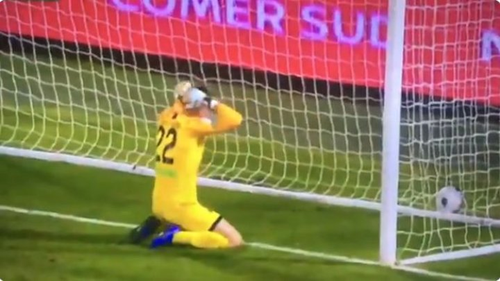 """В матче между командами """"Палермо"""" и """"Асколи"""" был забит курьезный автогол"""