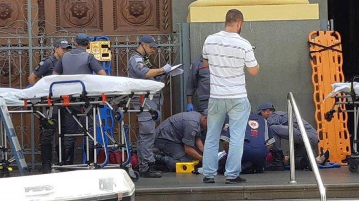 В Бразилии неизвестный открыл стрельбу в соборе: есть погибшие и раненые