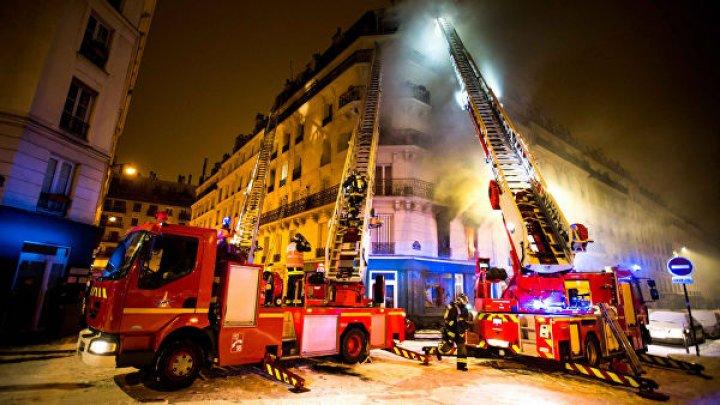 В Лионе загорелось здание университета (видео)