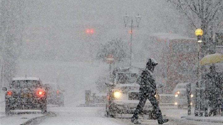 Метеорологи сохранили желтый код опасности до 12 января