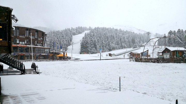 На Францию обрушились снегопады