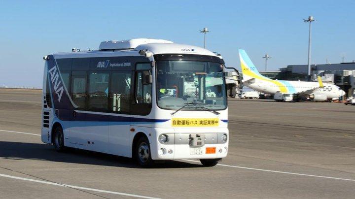 В Японии начали тестировать беспилотные автобусы