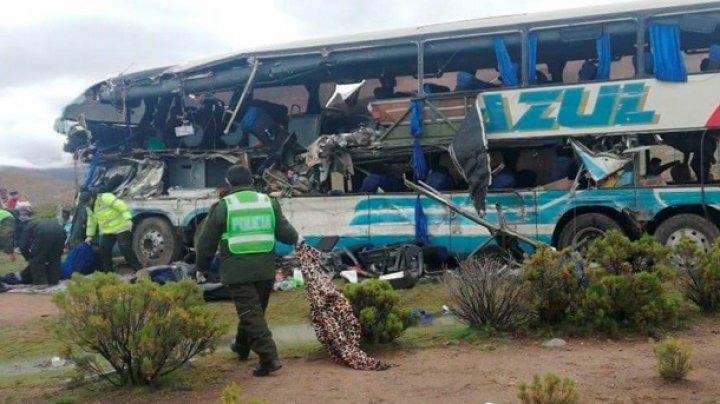 В Боливии столкнулись два автобуса: погибли более 20 человек