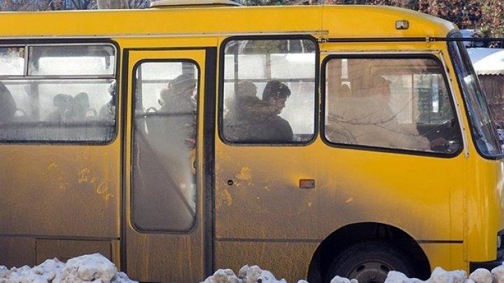 В Николаеве у маршрутки на ходу отвалился руль