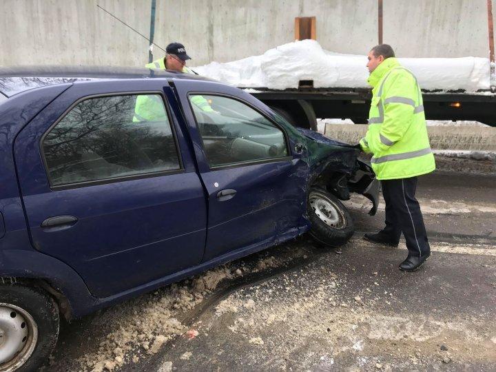 Авария на трассе Кишинев-Хынчешты: один человек госпитализирован