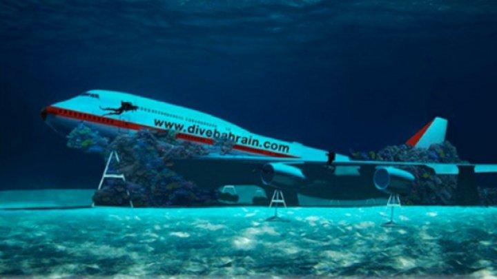 В Бахрейне намеренно затопили Боинг 747