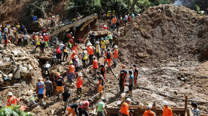 Жертвами оползней на Филиппинах стали 75 человек