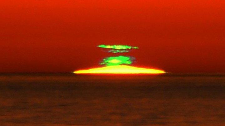 Эксперты объяснили феномен «зеленых» закатов