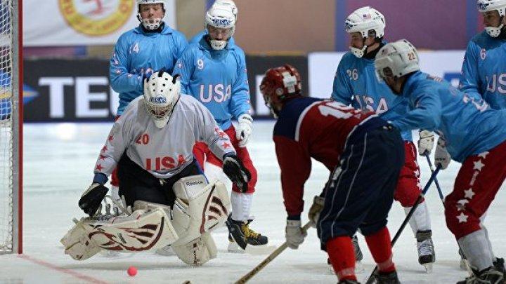 Сборная Норвегии обыграла команду США на чемпионате мира по бенди