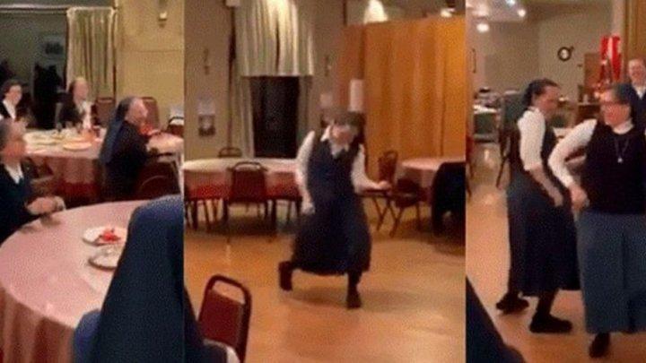 """Испанские монахини спели за обедом """"We Will Rock You"""" (видео)"""