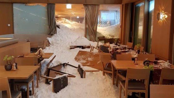 В Швейцарии лавина обрушилась на отель