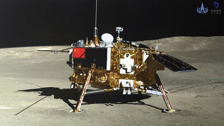 Китайцы напечатают лунную базу на 3D-принтере