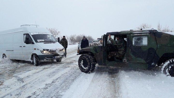 Молдавские военные будут патрулировать этой ночью основные национальные трассы