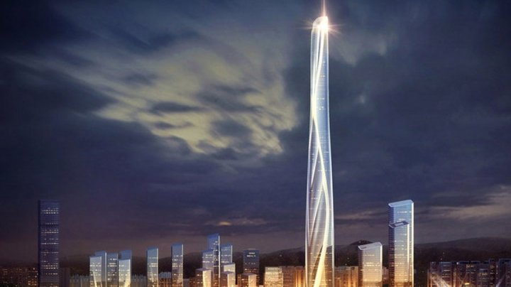В Китае построят дом высотой 700 метров