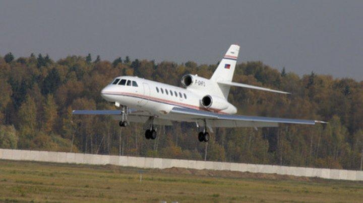 Пассажирский лайнер почти столкнулся с бизнес-джетом Falcon
