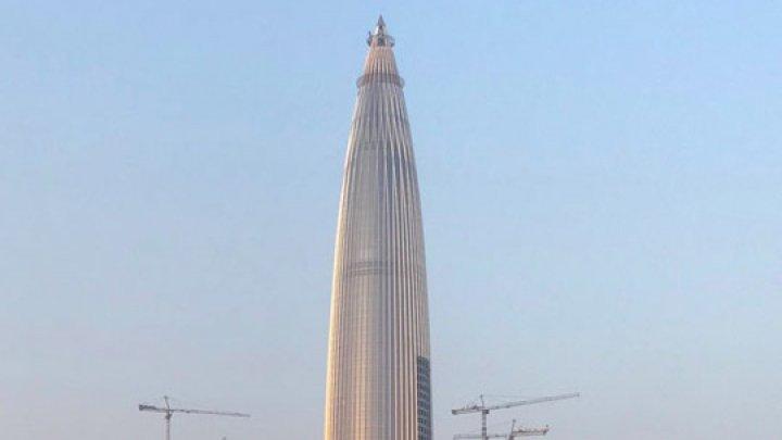 Китайские архитекторы вдохновились бамбуком и построили небоскреб-пулю