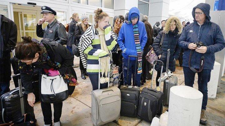 Более 2 тыс. рейсов отменены и задержаны в США из-за снежной бури