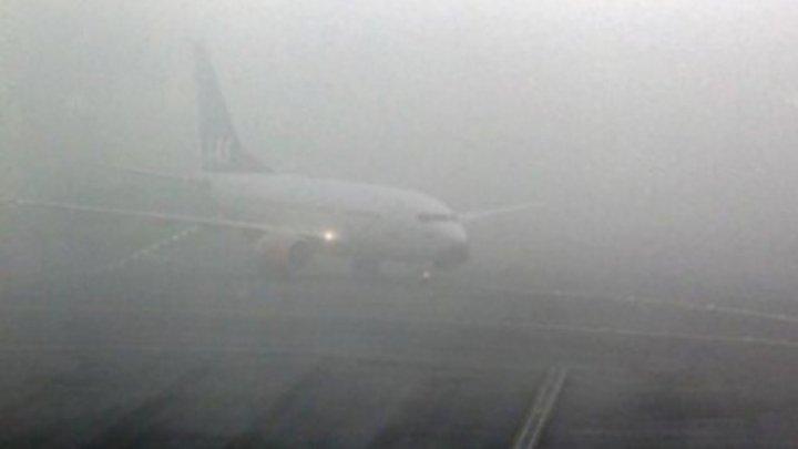 Неблагоприятные погодные условия затрудняют воздушное движение из аэропорта Кишинева