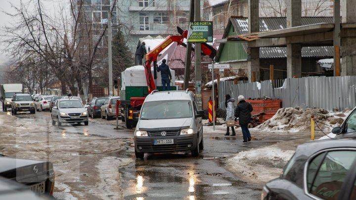 На улице Брынкуш в секторе Ботаника возводят здание, которое подвергает опасности жизни людей (фото)
