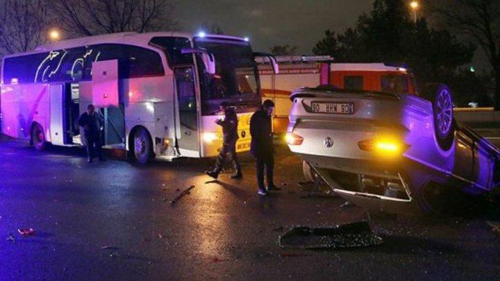 """Автобус с волейболистами """"Зенита"""" попал в ДТП в Турции"""
