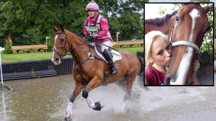 В Шотландии сердечный приступ у лошади убил и животное, и наездницу