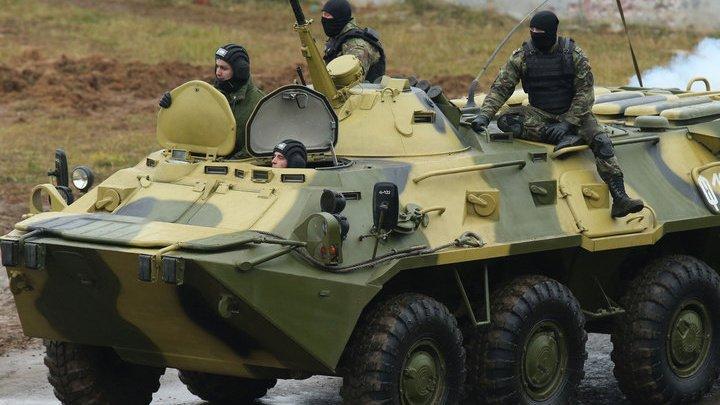 В Абхазии упал в ущелье российский БТР: трое солдат погибли