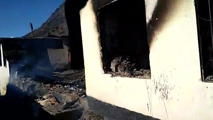 Занятия переносятся: в дагестанском селе сгорела школа (видео)