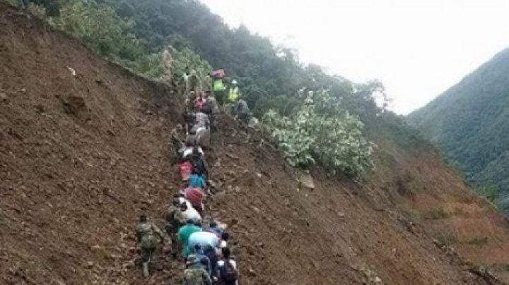 В Боливии сошли два оползня, погибли 16 человек