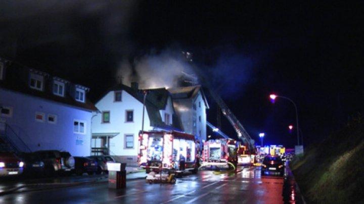 В Германии в результате пожара жилого дома погибли пять человек