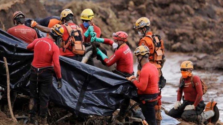 Число жертв прорыва дамбы в Бразилии выросло до 165 человек