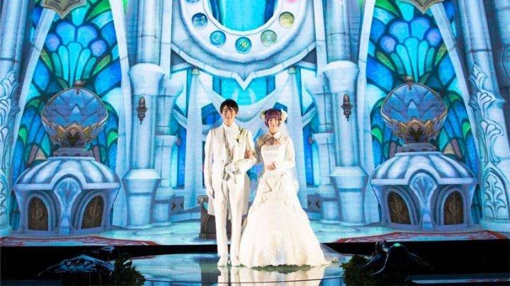 В Японии начали проводить свадьбы в стиле видеоигр