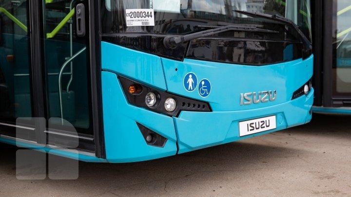 25 новых автобусов, купленных в Турции, вывели на линии в столице (фото)
