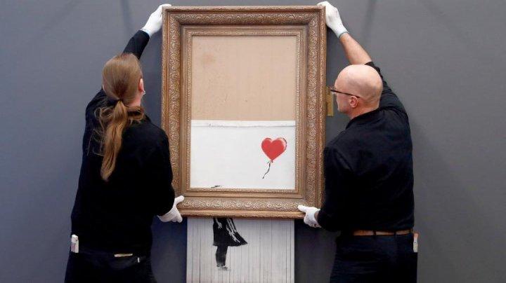 Изрезанная шредером картина Бэнкси попала в немецкий музей