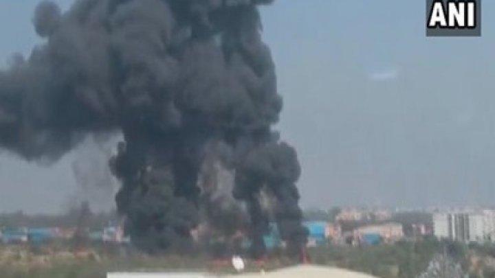 В Индии разбился истребитель, пилоты погибли