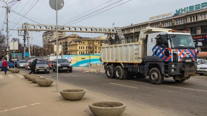 В центре Днепра грузовик насмерть сбил женщину