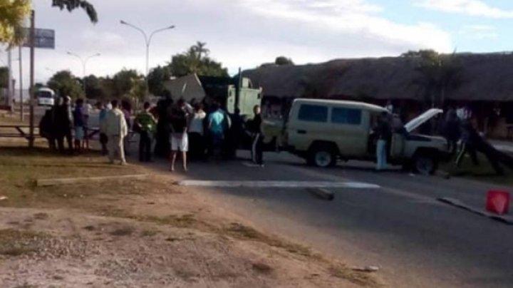В Венесуэле военные открыли огонь по мирным жителям