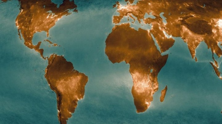 Загрязненность воздуха Земли ученые показали на карте