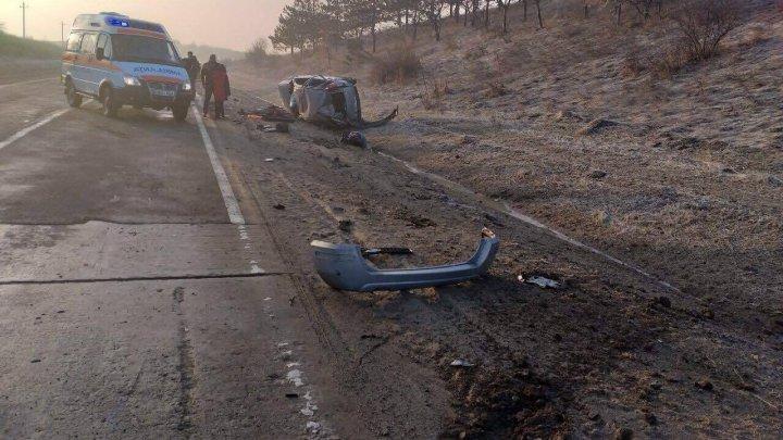 Четыре человека пострадали сегодня утром в аварии возле села Марандэны