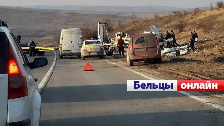 ДТП с участием грузового автомобиля произошло на трассе Бельцы-Кишинёв (видео)