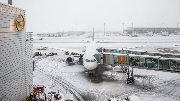 В аэропорту Мюнхена отменили 140 рейсов из-за непогоды