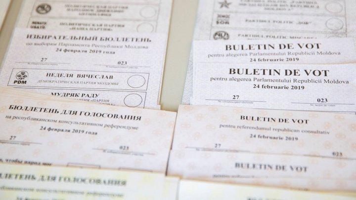 Подсчитано 100% голосов на парламентских выборах в Молдове