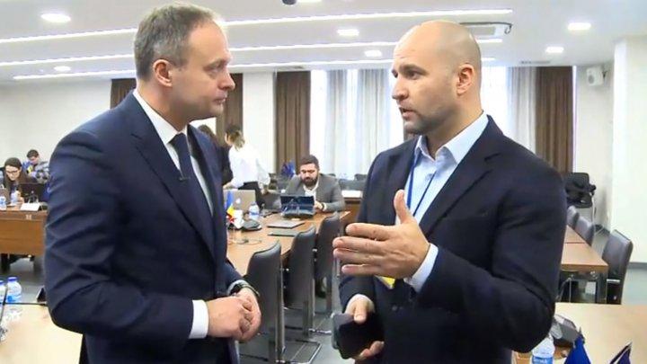 Атмосфера в избирательном штабе Демократической партии Молдовы: как движется работа  (видео)
